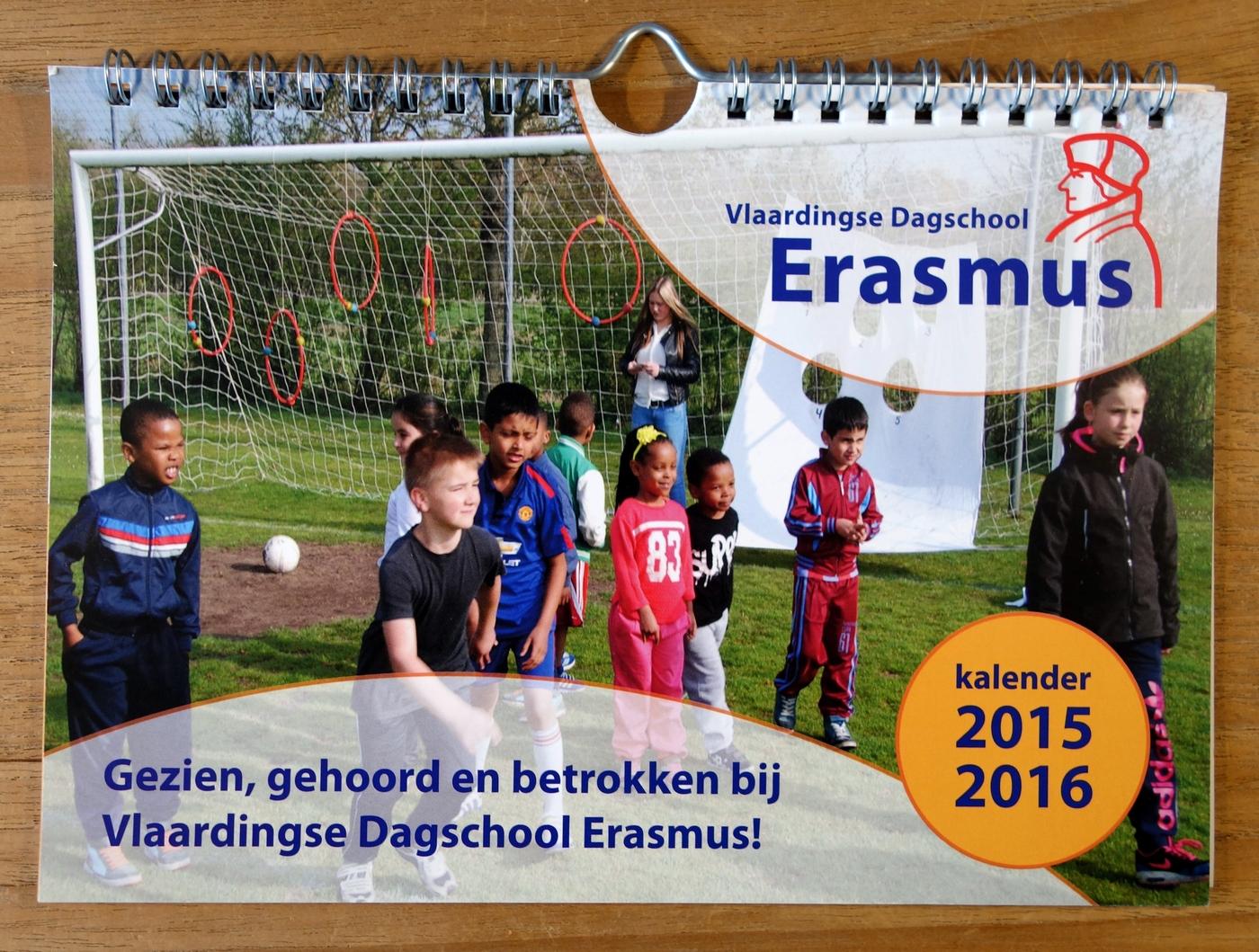 PF-Kalender Vlaardingse Dagschool Erasmus